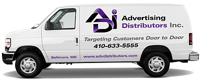Advertising Distributors offers delivery services for doorhangers and other hand-delivered marketing materials