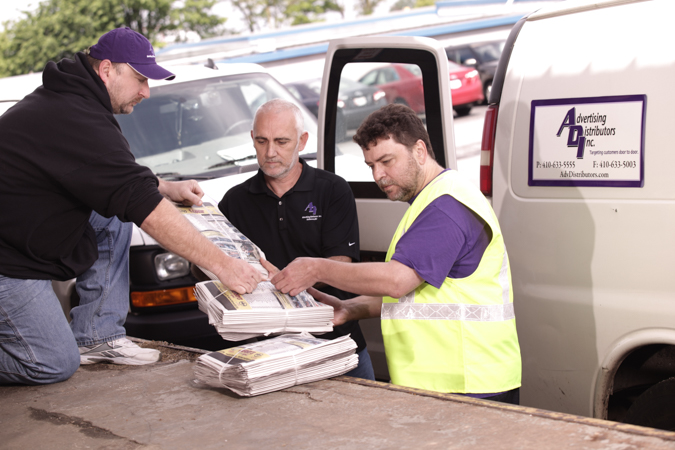 Advertising Distributors Inc - See our delivery team in action