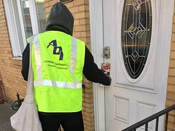 Targeted Door-to-door advertising delivery services