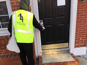 We hand-deliver door hangers, newspapers, product samples and all other marketing materials